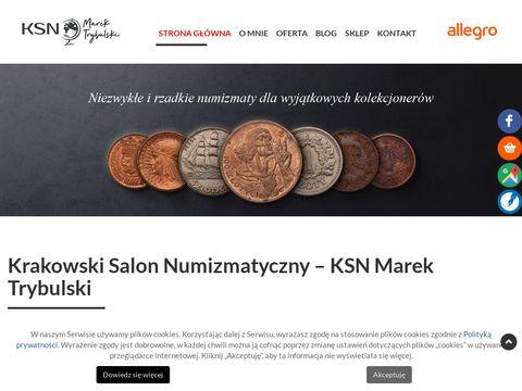 Gibon numizmatyka Kraków