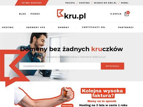 Kru.pl hosting certyfikaty SSL