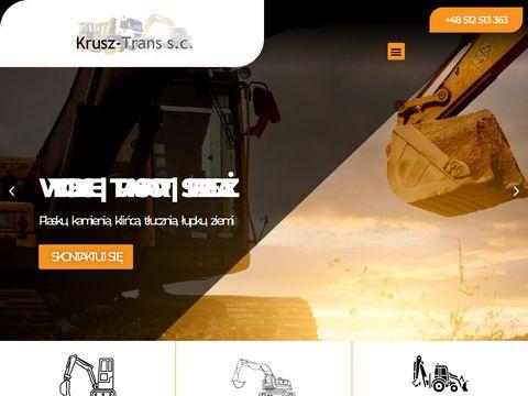 Krusz-trans.com.pl - prace ziemne Rzeszów