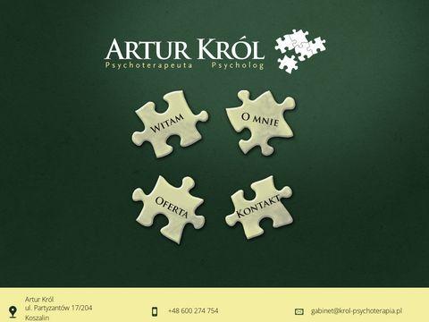 Artur Król - psycholog Koszalin