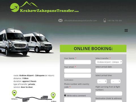 Krakow Airport Zakopane Transfers