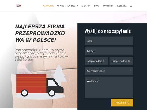 Przeprowadzki firm Kraków - Krakmax.pl