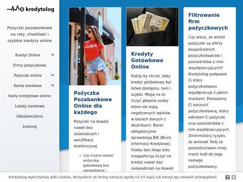 Kredytolog.com - Pożyczki i kredyty online