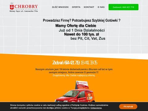 Kredyty-chrobry.pl chwilówki Nowy Sącz