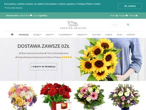 Wysyłka kwiatów