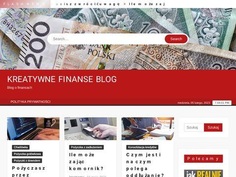 Kreatywne-finanse.pl