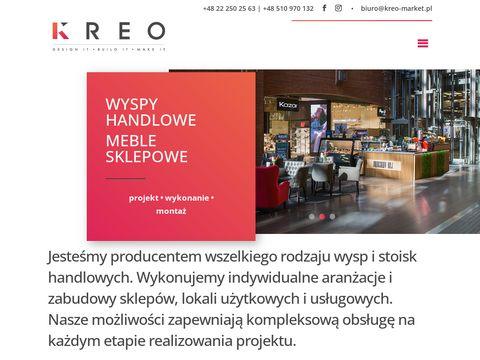 Kreo-market.pl - stoiska handlowe