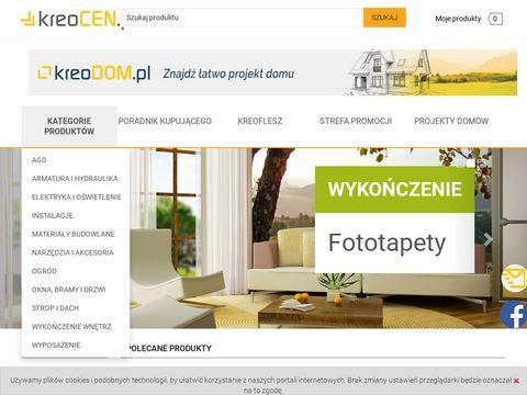 KreoCEN.pl - porównywarka cen produktów dla domu
