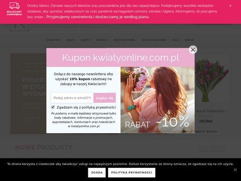 Kwiatyonline.com.pl Gdynia - kwiaciarnia