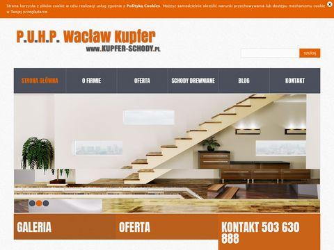 PHU Wacław Kupfer - schody drewniane