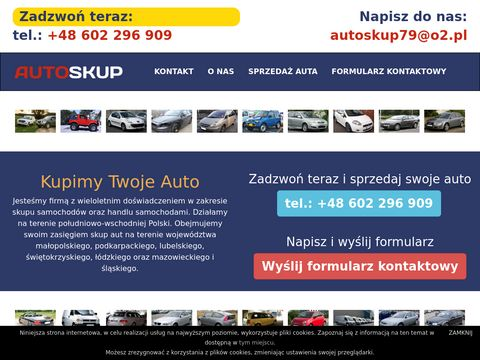 Kupimytwojeautoo.pl skup samochodów - Auto Parts