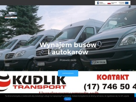 Kudlikbus.pl wynajem busów 9 osób i więcej Rzeszów