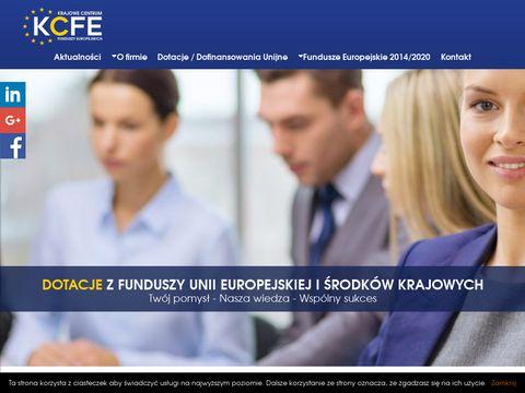 Kcfe.pl dotacje unijne dla firm