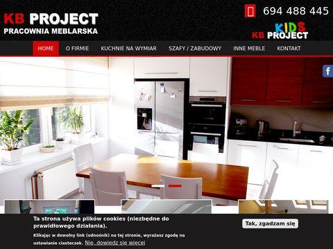 Kbproject.pl kuchnie na zamówienie