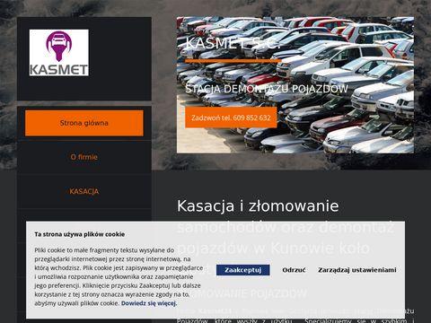 Kasmet24.pl demontaż pojazdów