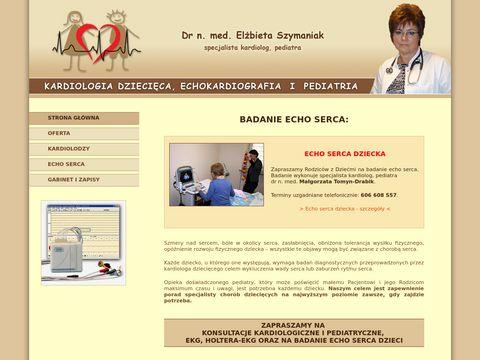 Kardiolog dziecięcy, echo serca dzieci w Warszawie