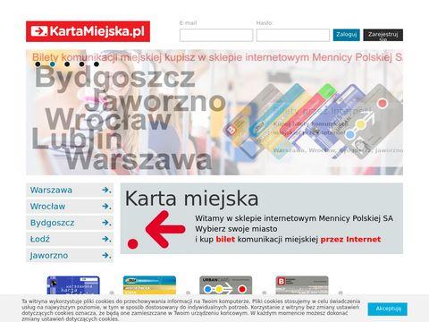 Kartamiejska.pl komunikacja miejska