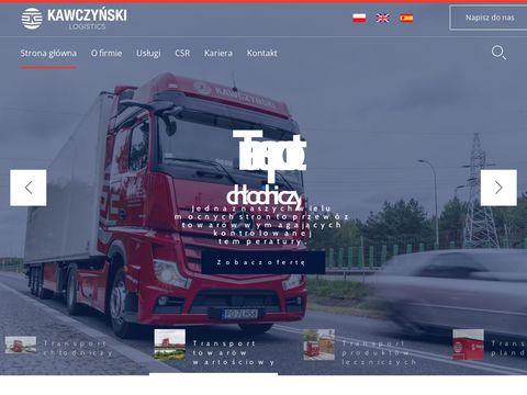 Kawczyński - transport drobnicowy