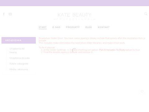 Katebeauty.pl urządzenia kosmetyczne