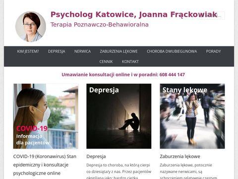 Katowice-psycholog.pl Joanna Frąckowiak
