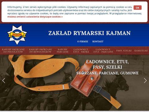 Zakład Rymarski Kajman - Ładownice