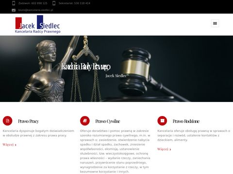 Kancelaria-siedlec.pl prawo pracy Lublin