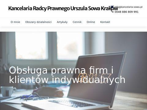 Kancelaria-sowa.pl radca prawny