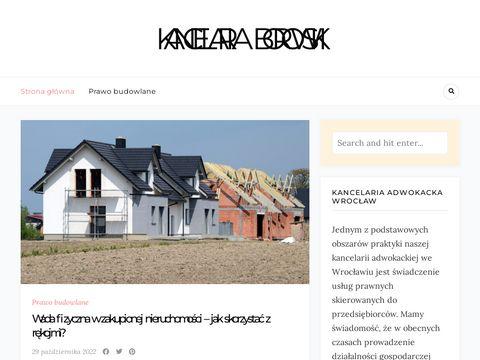 Kancelaria-borowski.pl adwokat we Wrocławiu