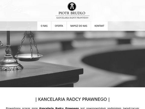 Kancelaria-brudlo.pl radca prawny Poznań
