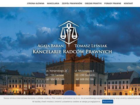 Kancelaria.tarnow.pl - radcy prawni