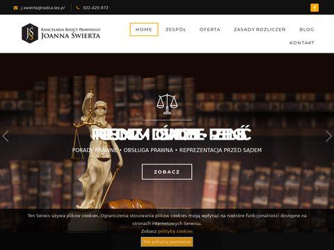 Joanna Świerta Kancelaria Radcy Prawnego