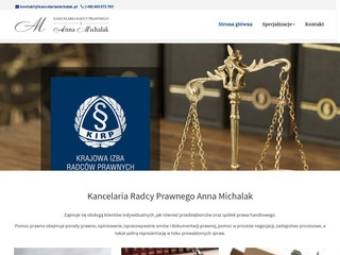Kancelariamichalak.pl radcy prawnego