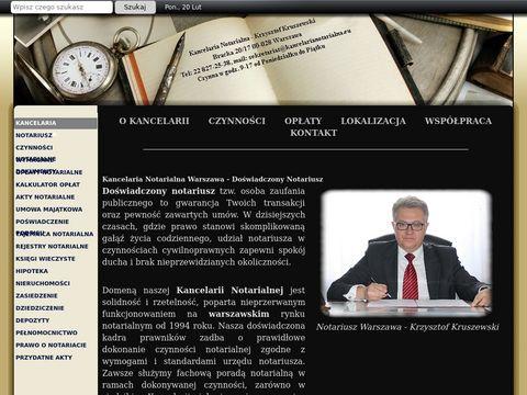 Kancelarianotarialna.eu Krzysztof Kruszewski