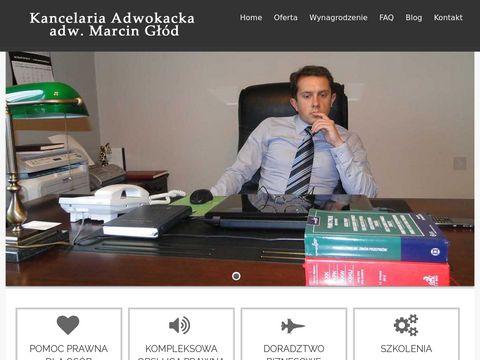 Marcin Głód adwokat - kancelaria Prawna Wrocław