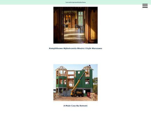 Kancelariaprawobudowlane.pl Warszawa