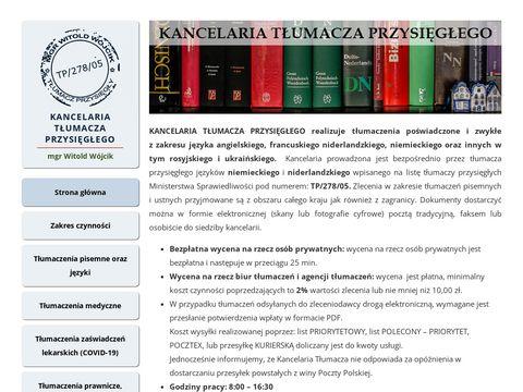 Kancelariatlumacza.pl tlumaczenia ustne