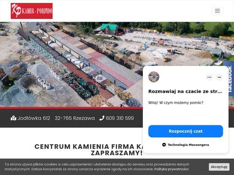 Kamir-Porfido Sp. z o.o. centrum kamienia Kraków