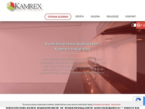Kamrex nagrobek dolnośląskie