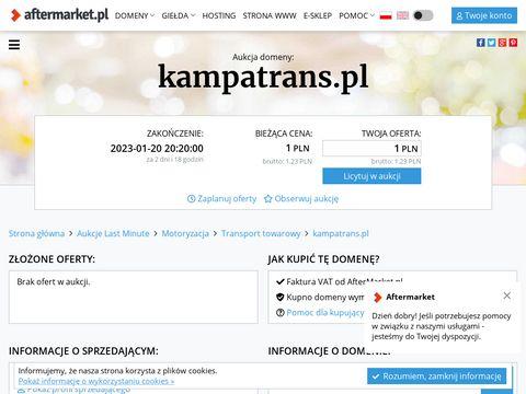 Kampatrans – przeprowadzki Szczecin