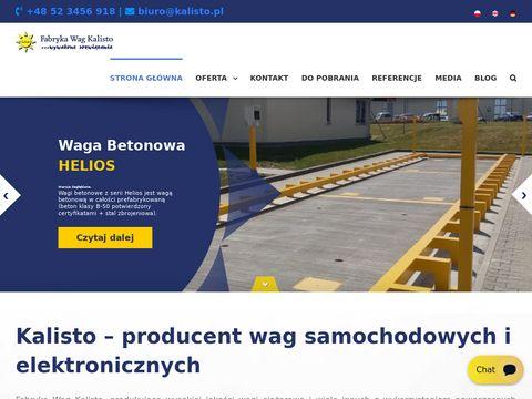 Kalisto - Wagi samochodowe, kolejowe i najazdowe