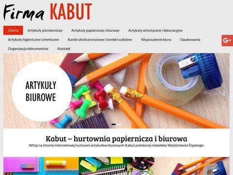 Kabut zaopatrzenie biurowe Wodzisław Śląski