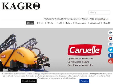 Kagro.pl sprzedaż maszyn rolniczych