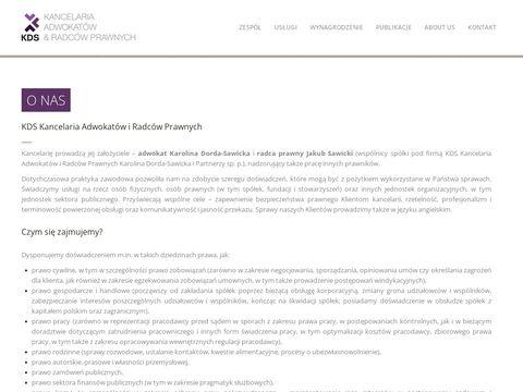KDS Kancelaria - radca prawny Jakub Sawicki Tychy