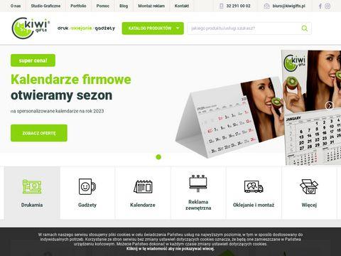 Kiwi Gifts - Agencja reklamowa, tanie gadżety, strony www: Sosnowiec