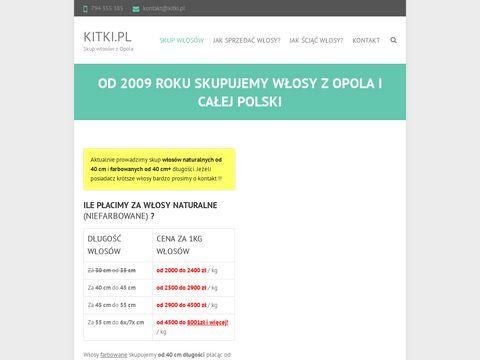 Kitki.pl - skup włosów naturalnych