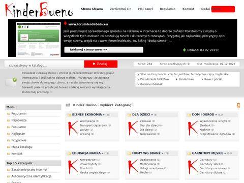 Kinderbueno.org.pl - spis stron