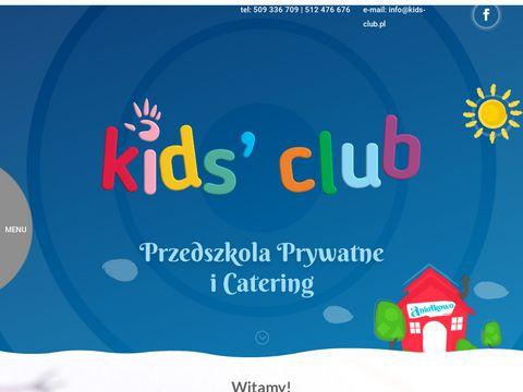 Kids-club.pl przedszkole dla dzieci Łódź