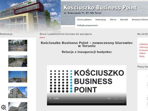 Kosciuszkopoint.pl powierzchnie biurowe Toruń