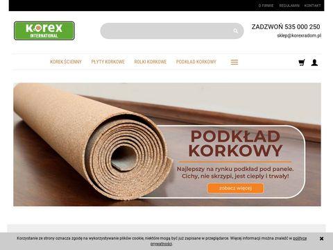 Korexradom.pl Płyty korkowe