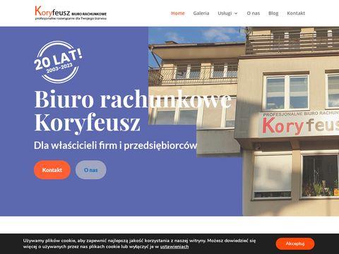 Koryfeusz.pl - biuro rachunkowe Starachowice